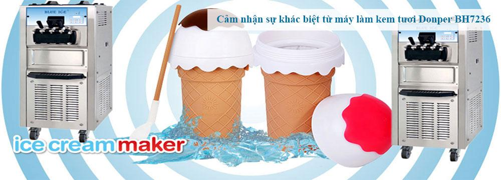 Saigon ice cream maker